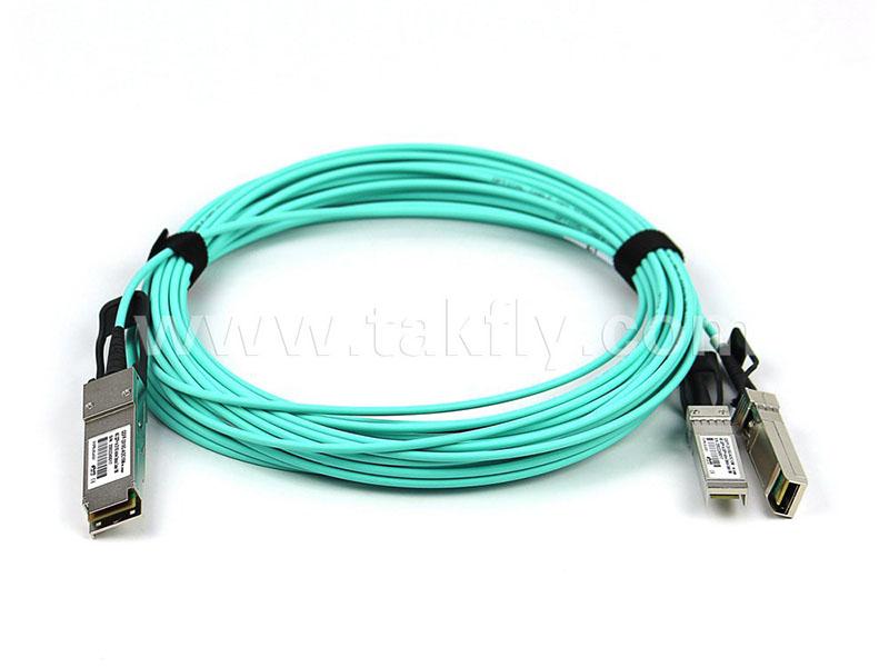 QSFP+2-SFP+ 有源光缆 (40G-210G)